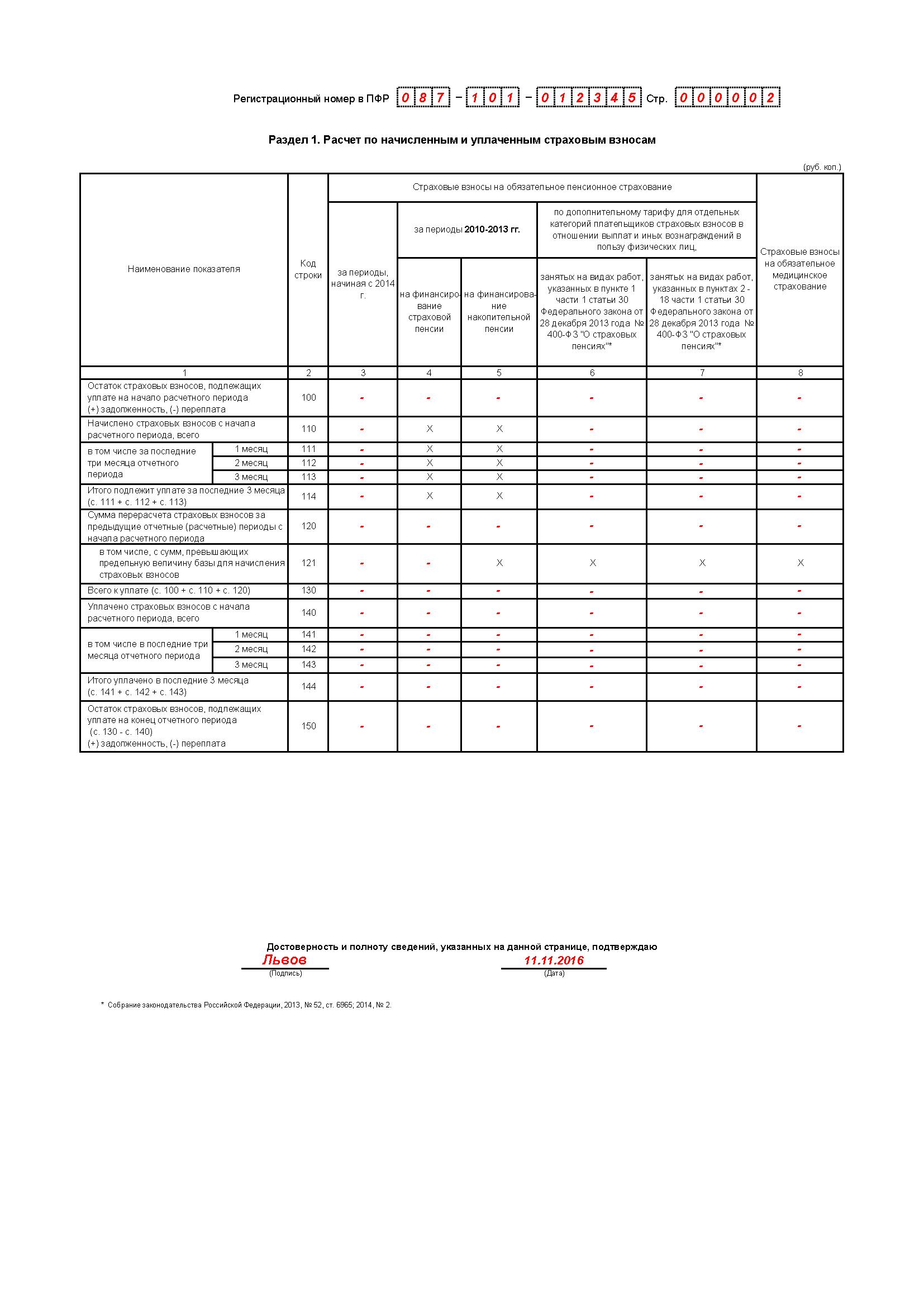 РСВ-1 ЗА 3 КВАРТАЛ 2016 СКАЧАТЬ БЕСПЛАТНО
