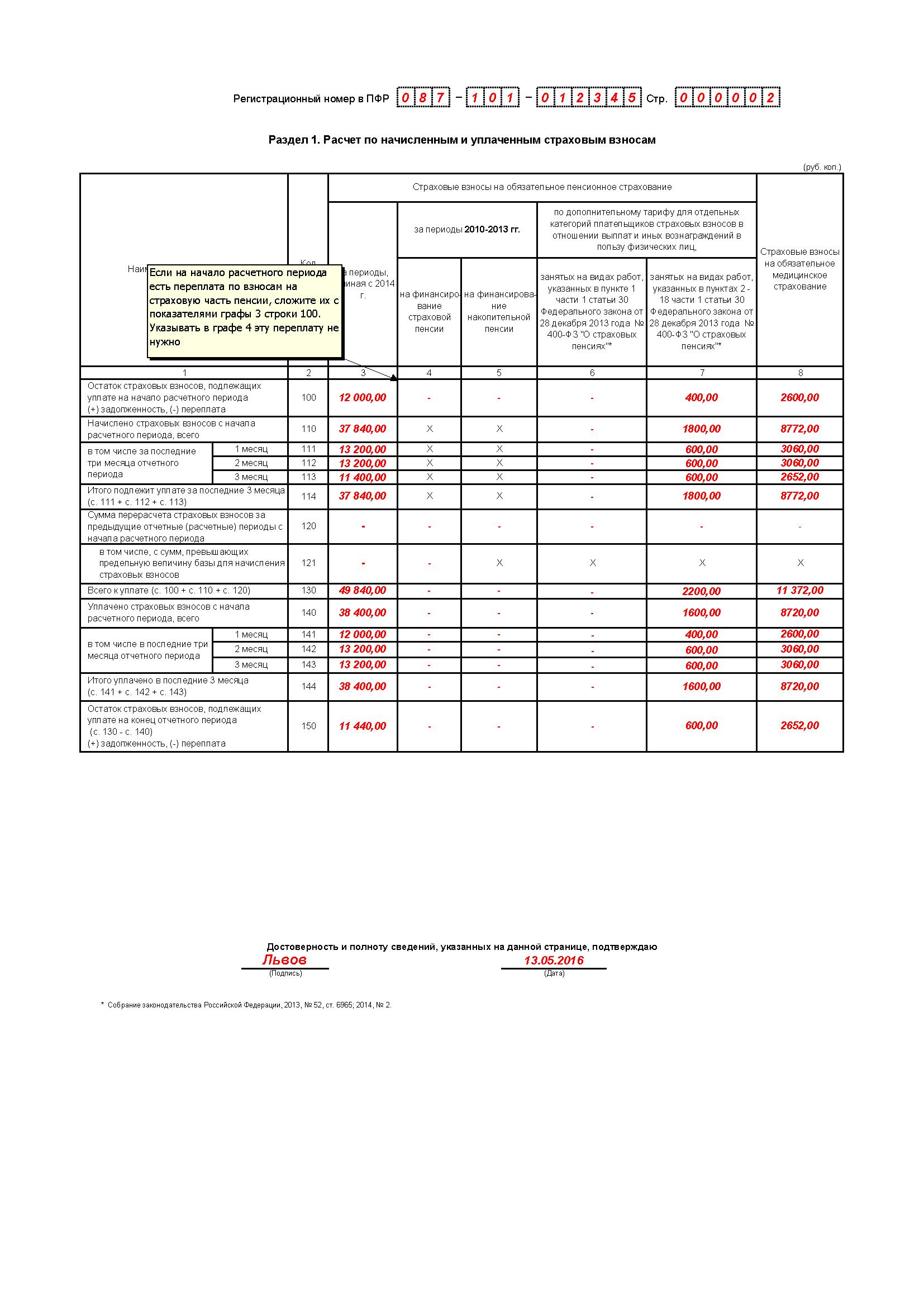 форма рсв-1 пфр за полугодие 2013 бланк