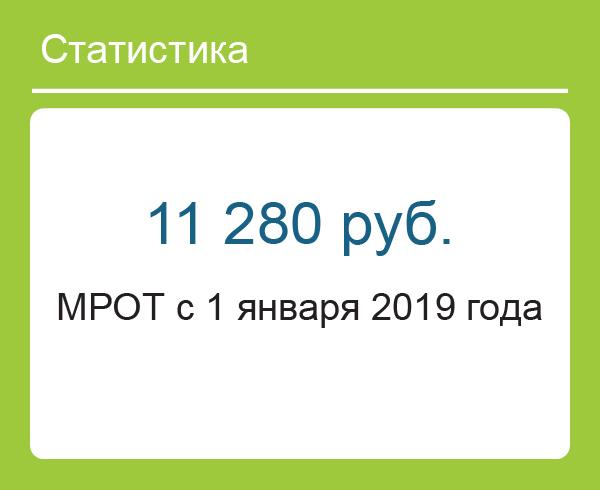 МРОТ с 1 января 2019 года в России: таблица по регионам