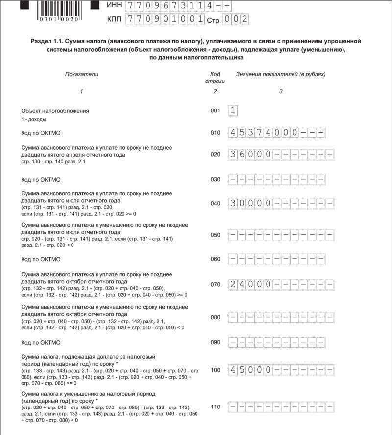 Декларация по налогу на прибыль за 2017 год решебник