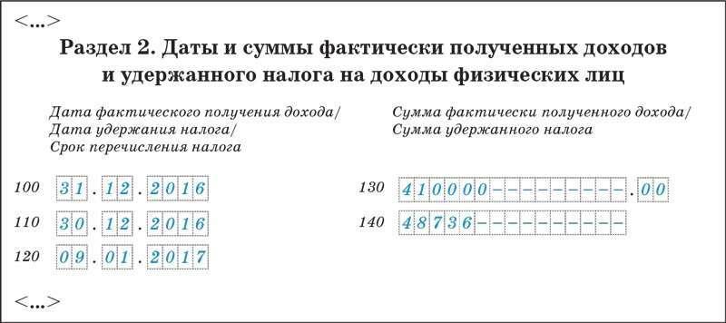 Пример. Как отразить в 6-НДФЛ зарплату, выданную в декабре