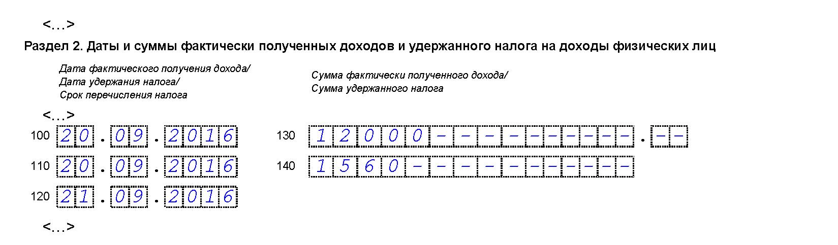Договор ГПХ в 6-НДФЛ за 3 квартал