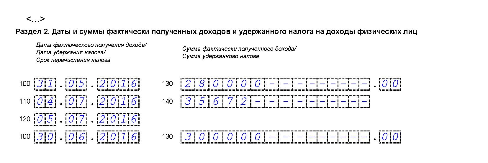 Как заполнить раздел 2 формы 6-НДФЛ, если зарплату выдали в следующем месяце