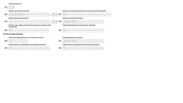 Отражение договора ГПХ в 6-НДФЛ