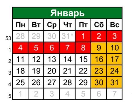 31 Dekabrya V 2020 Godu Vyhodnoj Ili Net Novye Regiony Rossii